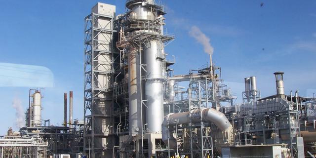 Oil Refining Titan Forklifts