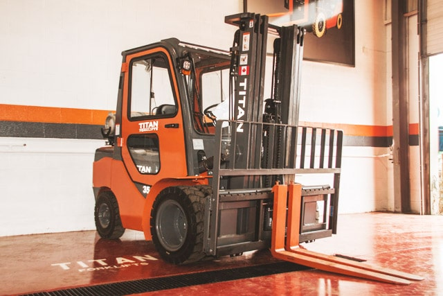Titan Forklifts Enclosed Cab