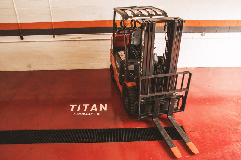 Titan Forklifts Accessories Display Image