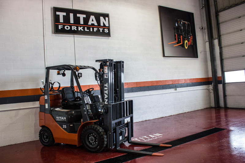 Titan Forklifts Training