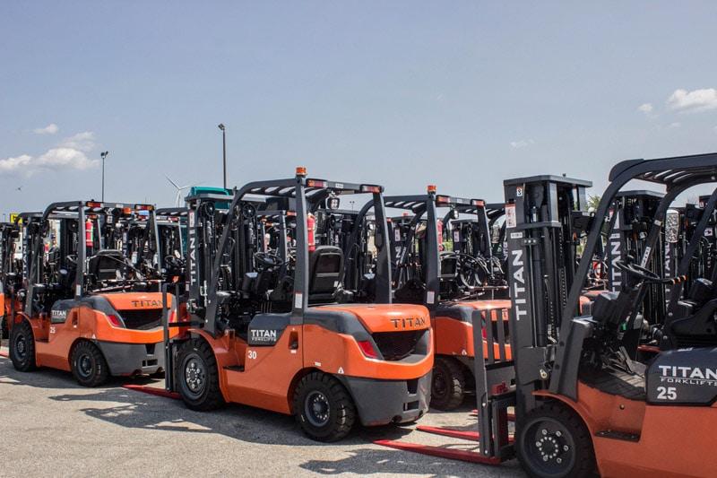 Titan Forklifts Financing